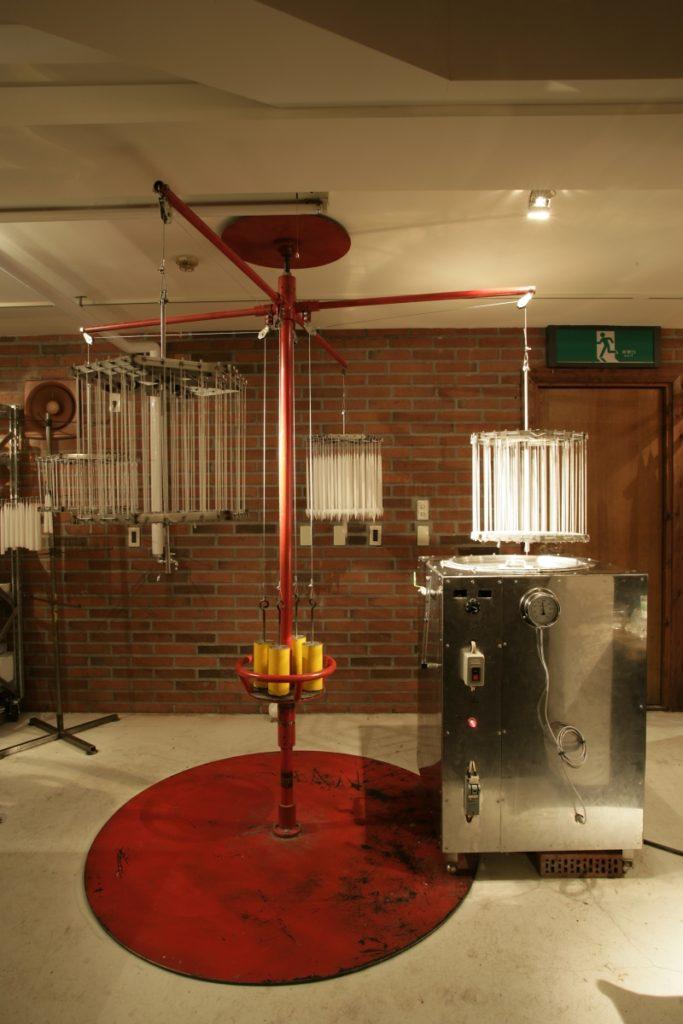 回転式キャンドル製造機